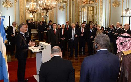 <h5><strong>RELACIONES EXTERIORES</strong></h5>Macri dio la bienvenida a cancilleres del G20 y pidió avanzar con «definiciones precisas»