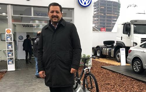"""<h5><strong>EMPRESAS</strong></h5>CEO de Volkswagen Argentina: """"El fuerte crecimiento de las ventas a principios de año está compensando la caída en este último tiempo"""""""