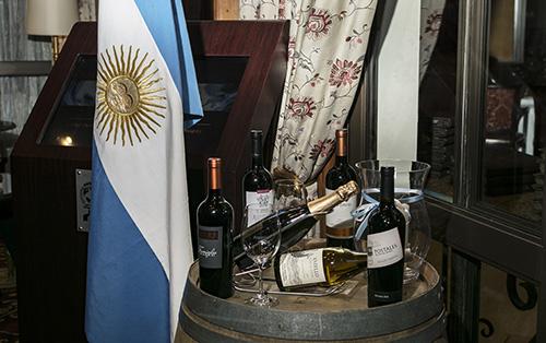 Degustación de vinos argentinos en Sudáfrica