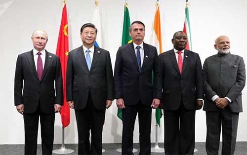 <h5><strong>COMEX</strong></h5>Los BRICS ratificaron su apuesta por el multilateralismo en un encuentro en Osaka
