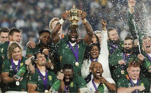 Sudáfrica se consagró campeón del Mundial de Rugby tras vencer a Inglaterra