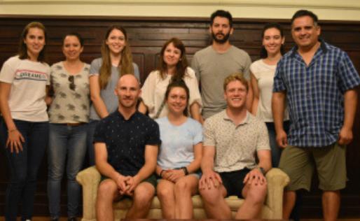 CIENCIA<br>Investigadores de Sudáfrica estudian en Argentina controladores biológicos del camalote