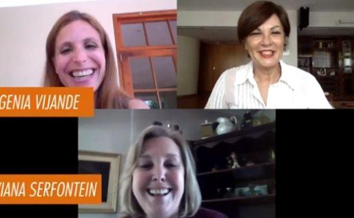 Mujeres de la Embajada de Argentina en Sudáfrica entrevistadas desde Argentina