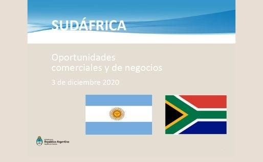 Oportunidades comerciales en Sudáfrica